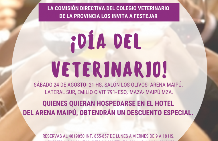 Festejo del día del veterinario