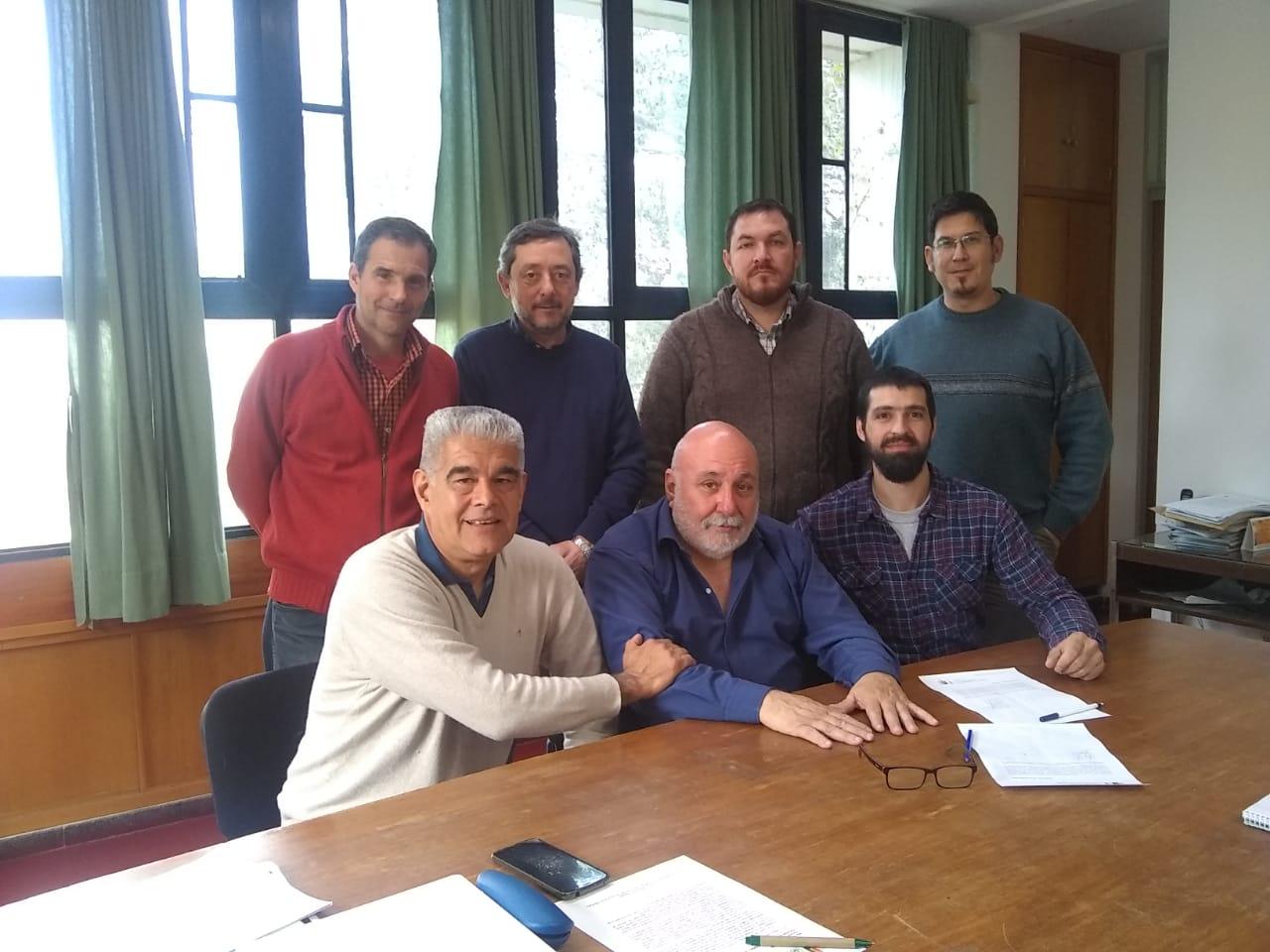 El Colegio firmó un acuerdo con la Facultad de Ciencias Veterinarias de General Pico