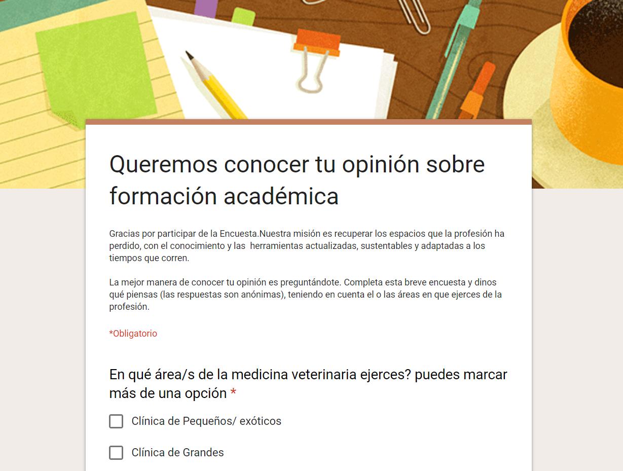¡Participá de nuestra encuesta!