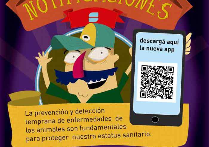 """""""Notificaciones Senasa"""": la APP para dar aviso sobre enfermedades animales."""
