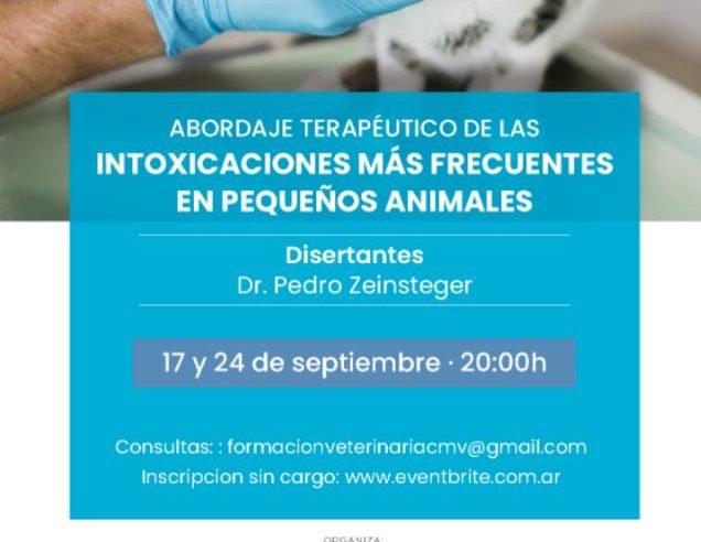 Curso sobre Intoxicaciones en Pequeños Animales