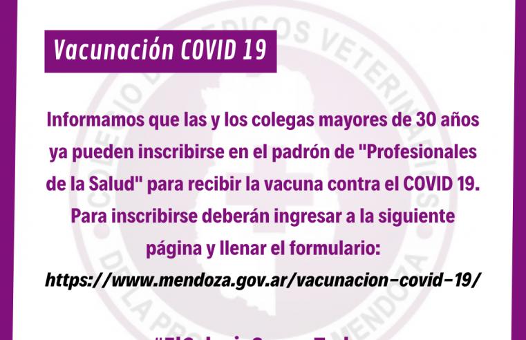 Vacunación COVID 19 para Veterinarios