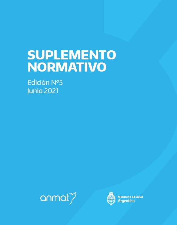 ANMAT publicó su Suplemento Normativo